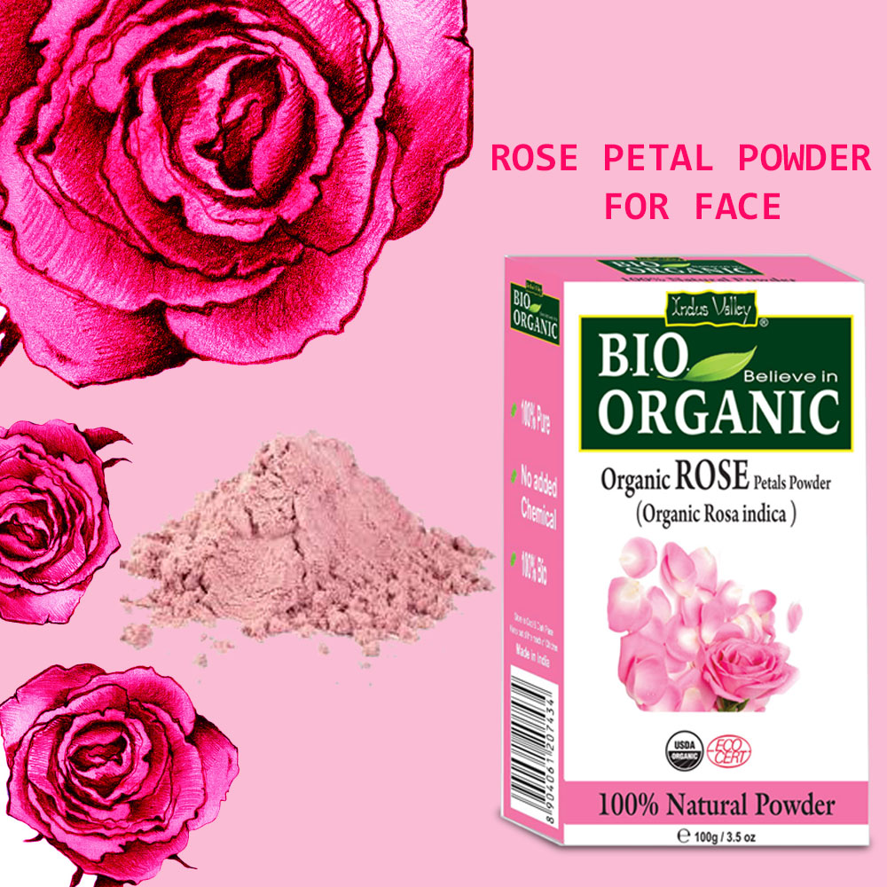 rose powder for face