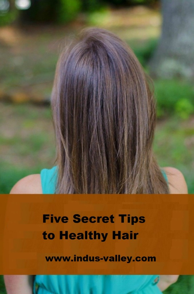 Five Secret Tips to Healthy Hair