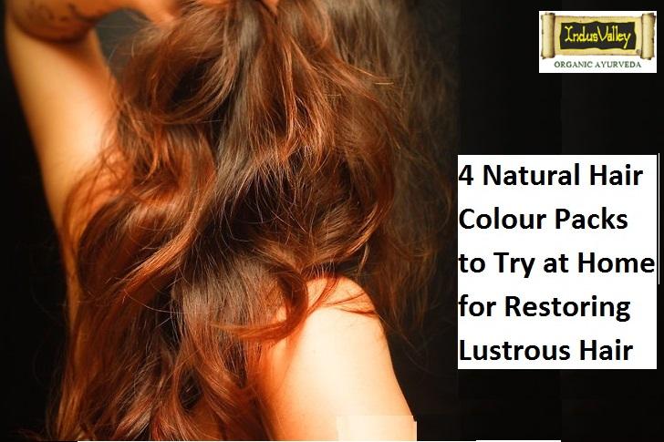Natural Hair Colour Packs