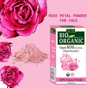 rose petal powder for skin