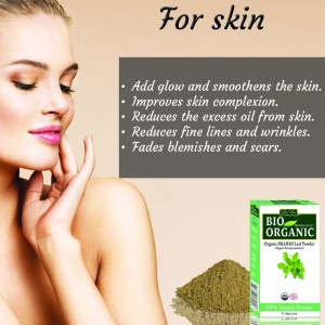 Brahmi powder for skin