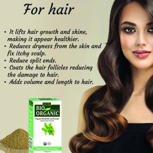 Brahmi powder for hair