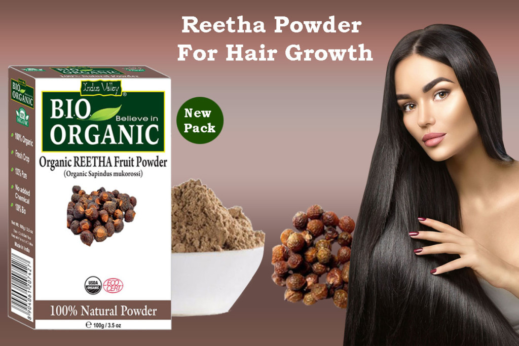 reetha powder for hair