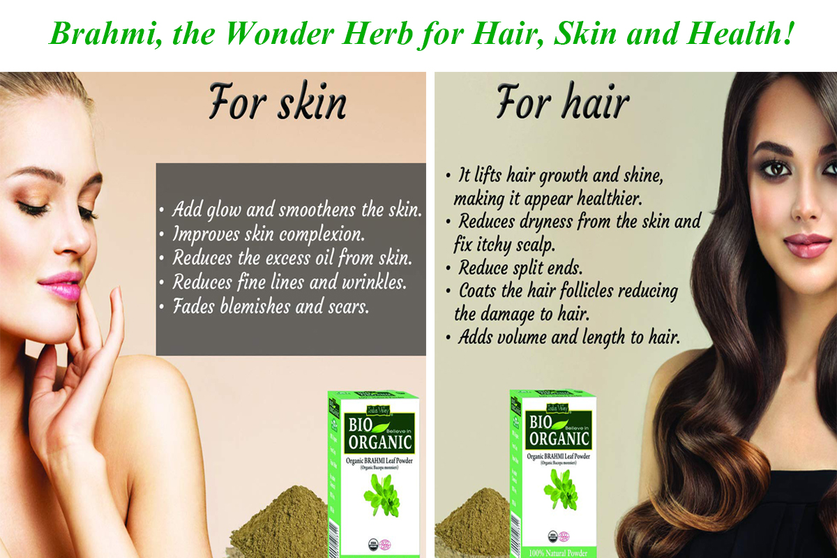 7 Herbal Hair And Skincare Tips With Brahmi Powder Indus Valley Blog