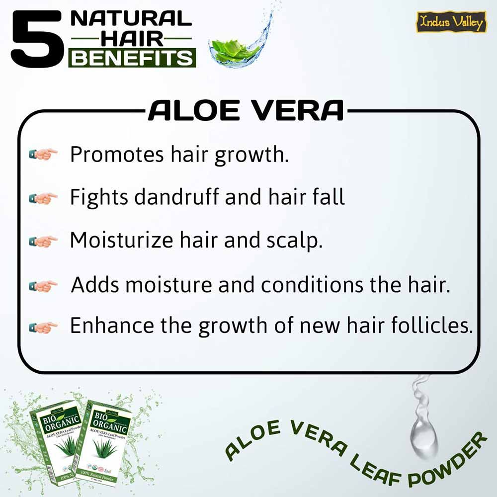 aloe Vera for hair growth