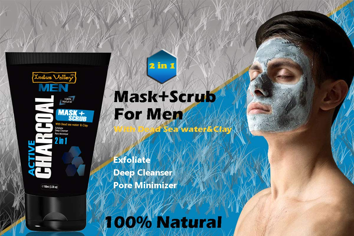Choose The Right Face Scrub For Men Indus Valley Blog