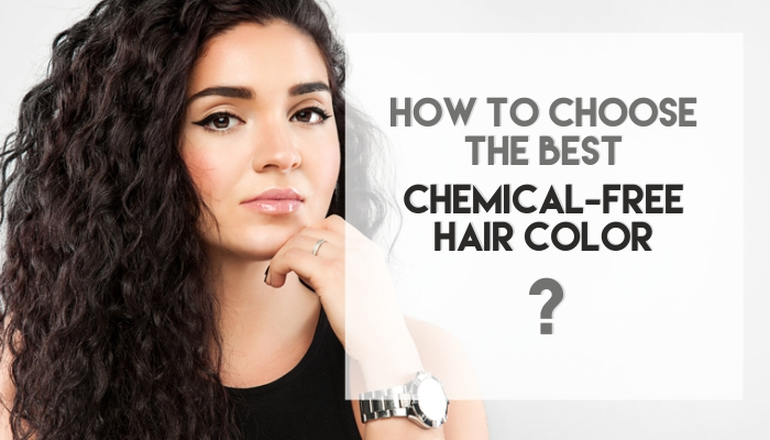 chemical-free hair colours