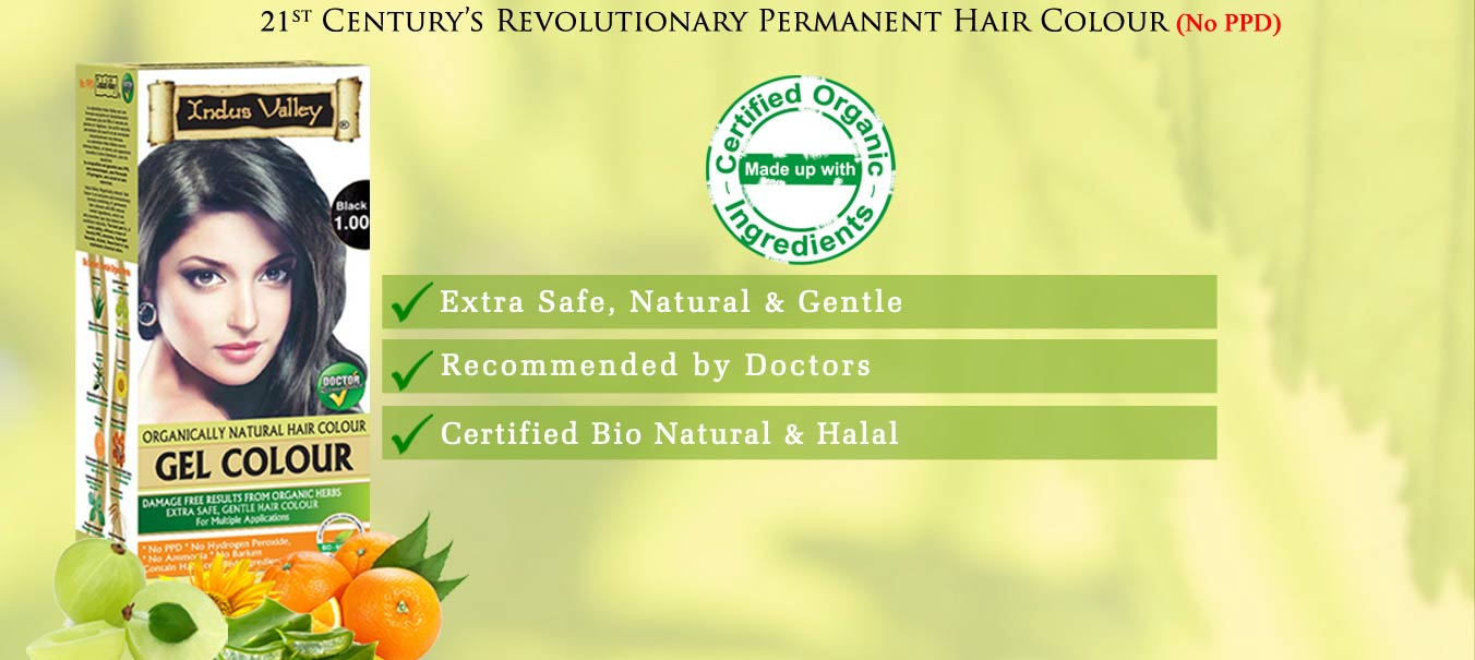 Organically Natural Permanent Hair Colour Indus Valley
