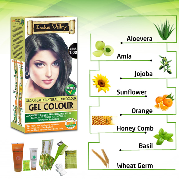 Organically Natural Permanent Hair Colour | Indus Valley